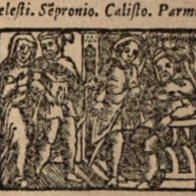 Imagen del acto XI de la edición de Salamanca (1590)
