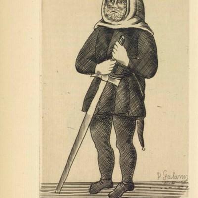 Ilustración del acto XX de París, 1922