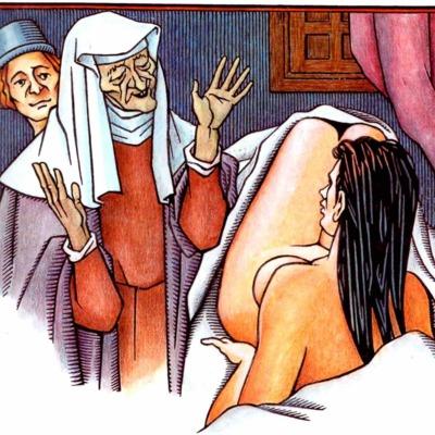 Tercera ilustración del acto VII de la edición de Madrid, 2005