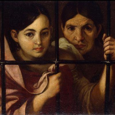 Celestina y su hija en la cárcel, de Murillo (Atribuido, 1645, c.)