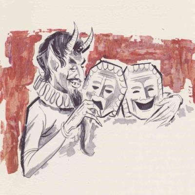 Ilustración primera del acto I de la edición de Barcelona (1968)