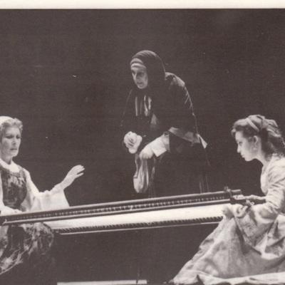 Representación de la Compañía Nacional de Teatro Clásico, Madrid, de Marsillach (1988)