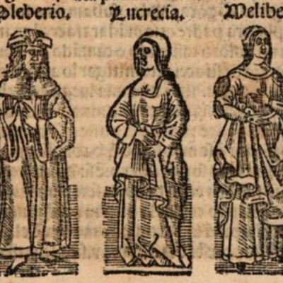 Imagen primera del acto XX de la edición de Burgos (1531)