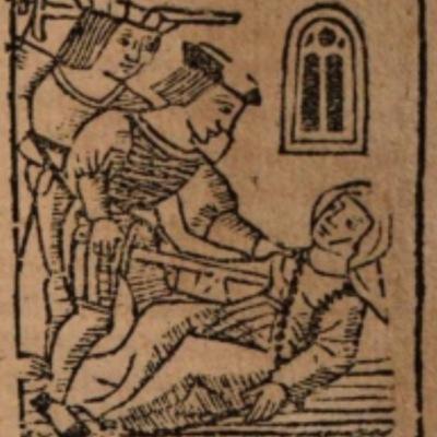 Imagen segunda del acto XII de la edición de Salamanca (1590)