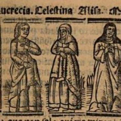 Grabado del acto IV de la edición de Venecia (1534)