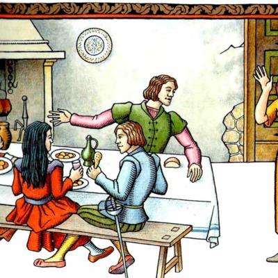 Tercera ilustración del acto IX de la edición de Madrid, 2005