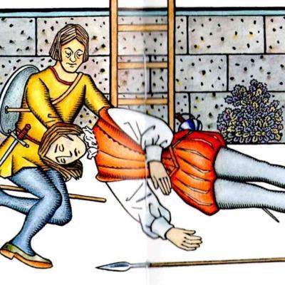 Segunda ilustración del acto XIX de la edición de Madrid, 2005