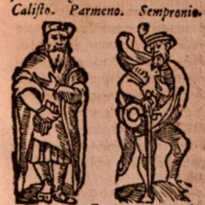 Imagen del acto II de la edición de Salamanca (1590)