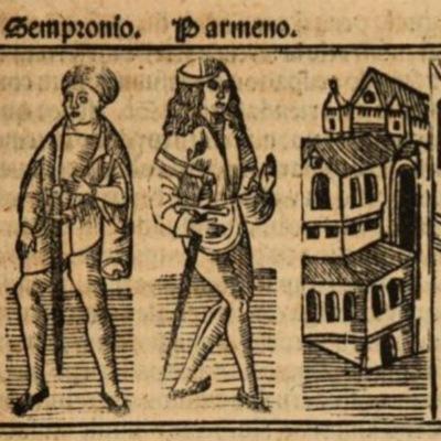 Imagen del acto II de la edición de Burgos (1531)