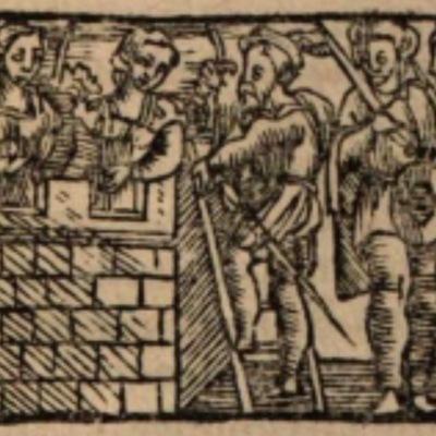 Imagen del acto XII de la edición de Salamanca (1590)