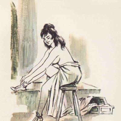 Ilustración segunda del acto XVII de la edición de Barcelona (1968)