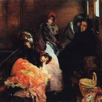 Trata de blancas, de Sorolla (1894)