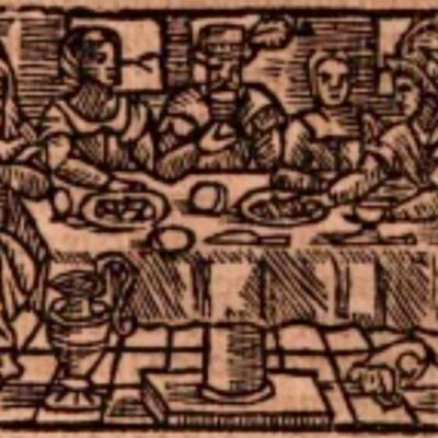 Ilustración del acto IX de la edición de Estella (1557)