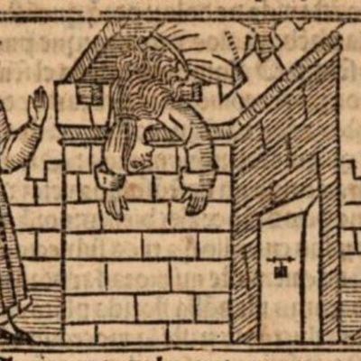 Imagen segunda del acto XX de la edición de Burgos (1531)