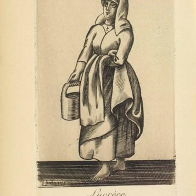 Ilustración del acto IX de París, 1922