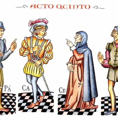 Ilustración del acto V de la edición de Madrid, 2005