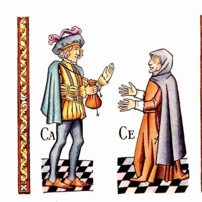 Sexta ilustración del acto I de la edición de Madrid, 2005