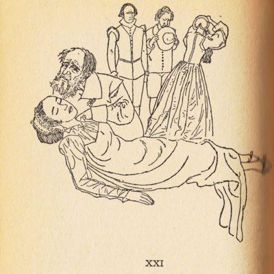 Ilustración del acto XXI de la edición de Barcelona (1967)