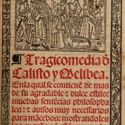 Ilustración de la portada de la edición de Burgos (1531)