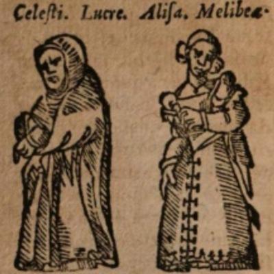 Imagen del acto IV de la edición de Salamanca (1590)