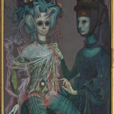 Celestina ataviando a Melibea post-mortem, de Quiroz (1972)