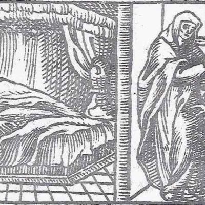 Imagen del acto VII de la edición de Valladolid (1561)