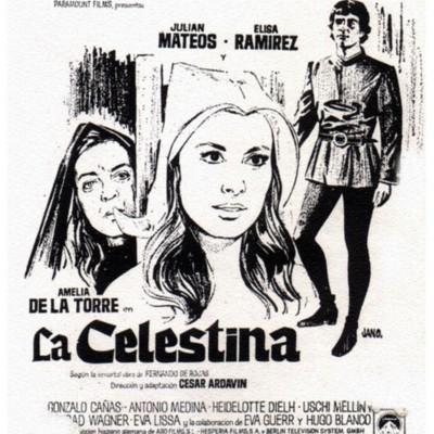 Cartel anunciadorde la películaLa Celestina, de Ardavín(1969)