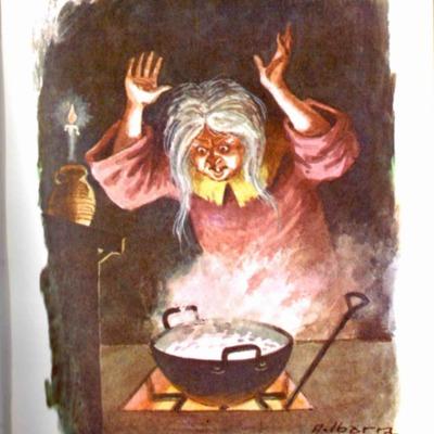 Ilustración segunda del acto I de la edición de Bilbao (1971)