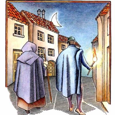Tercera ilustración del acto VI de la edición de Madrid, 2005