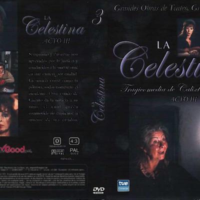 Carátula del DVD Acto III de La Celestina, de Guerrero.
