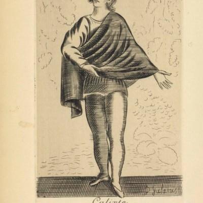 Ilustración del acto II de la edición de París, 1922