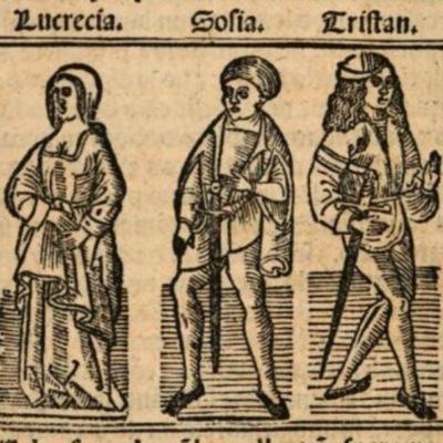 Imagen primera del acto XIV de la edición de Burgos (1531)