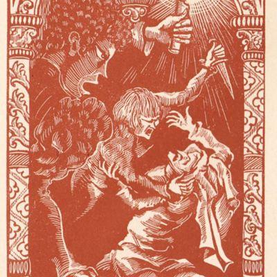 Imagen tercera del acto XIII de la edición de París (1943)