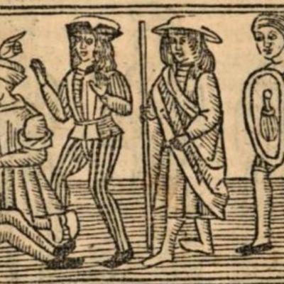Imagen segunda del acto XIII de la edición de Burgos (1531)