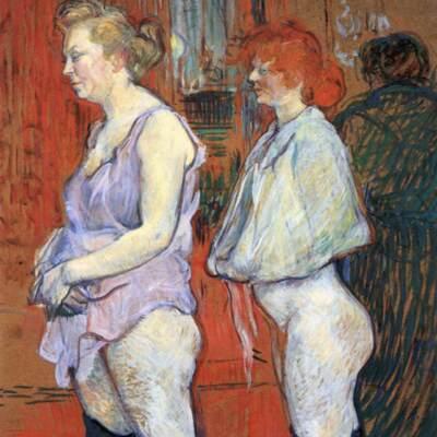 La inspección médica, de Toulouse-Lautrec (1894)