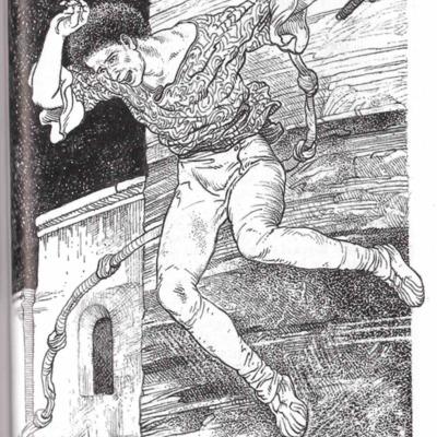 Ilustración de la página 329 de la edición Madrid, 2001.