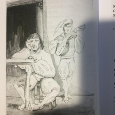 Ilustración primera del acto 2 de la edición de Madrid, 2010