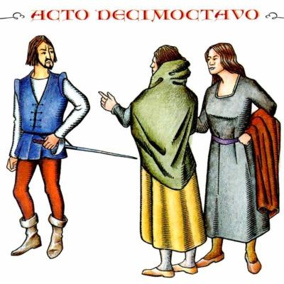 Ilustración del acto XVIII de la edición de Madrid, 2005