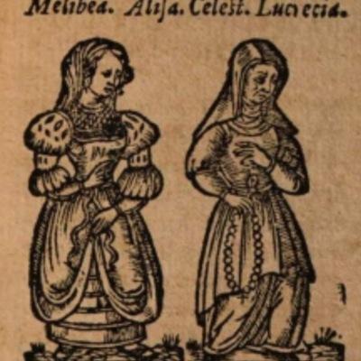 Imagen del acto X de la edición de Salamanca (1590)