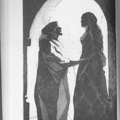Ilustración del acto IV de la edición de Londres (1973)