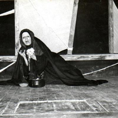 Representación del Teatro de la Máscara, Montevideo, 1981