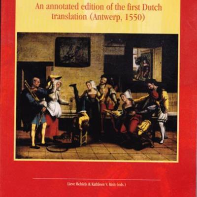 Portada de la edición de la Universidad de Lovania: Lovania, 2005