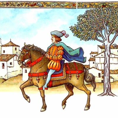 Cuarta ilustración del acto VIII de la edición de Madrid, 2005