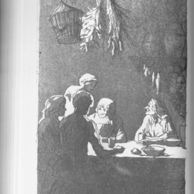 Ilustración del acto VIII de la edición de Londres (1973)