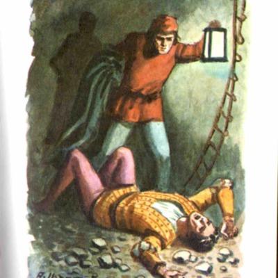 Ilustración del acto XIX de la edición de Bilbao (1971)