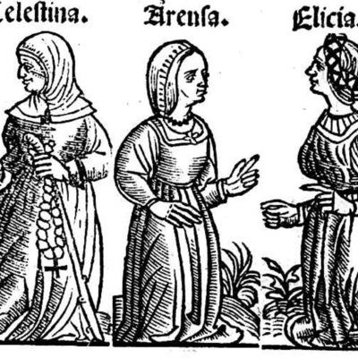 Ilustración del acto VII de la edición de Toledo (1526)
