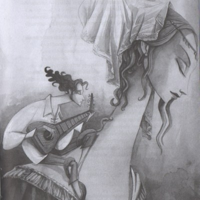 Ilustración del acto I de la edición de Madrid (2017)