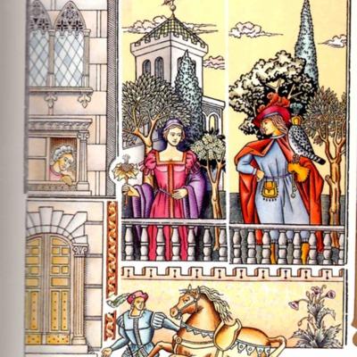 Ilustración del argumento de la edición de Madrid, 2005