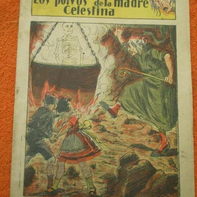 Comic <em>Los polvos de la madre Celestina</em> (1920 c.)
