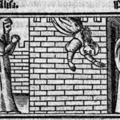 Grabado del acto XXI de la edición de Sevilla (1523)